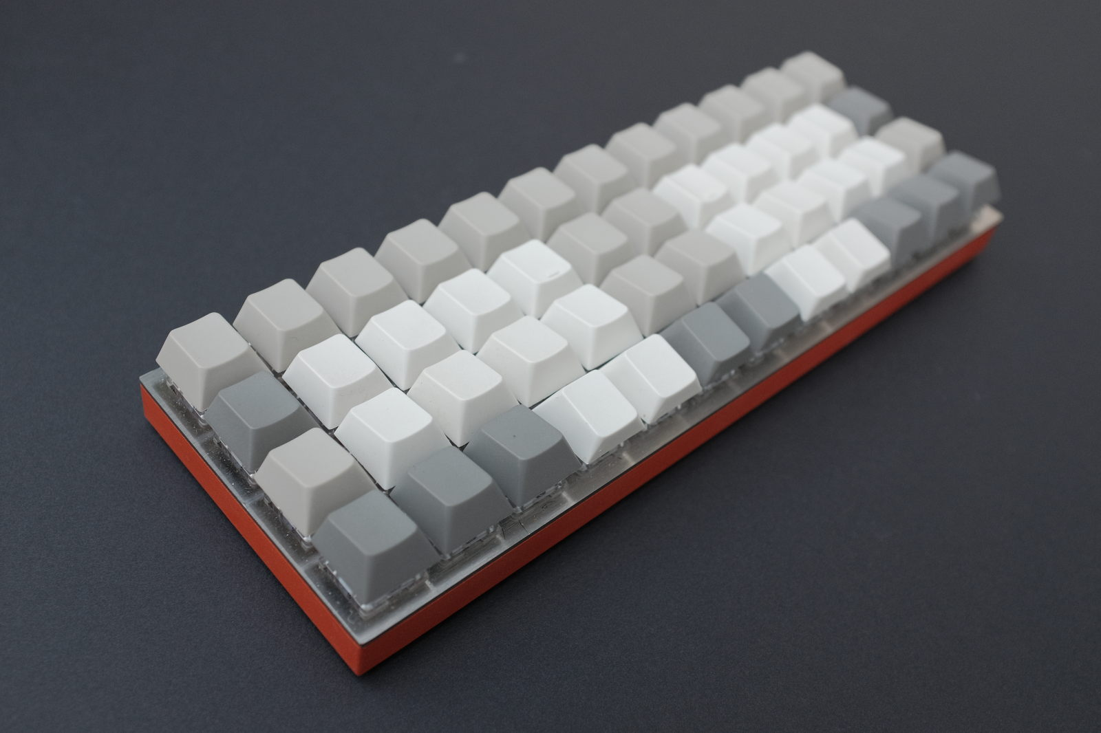 Planck with Cherry keycaps